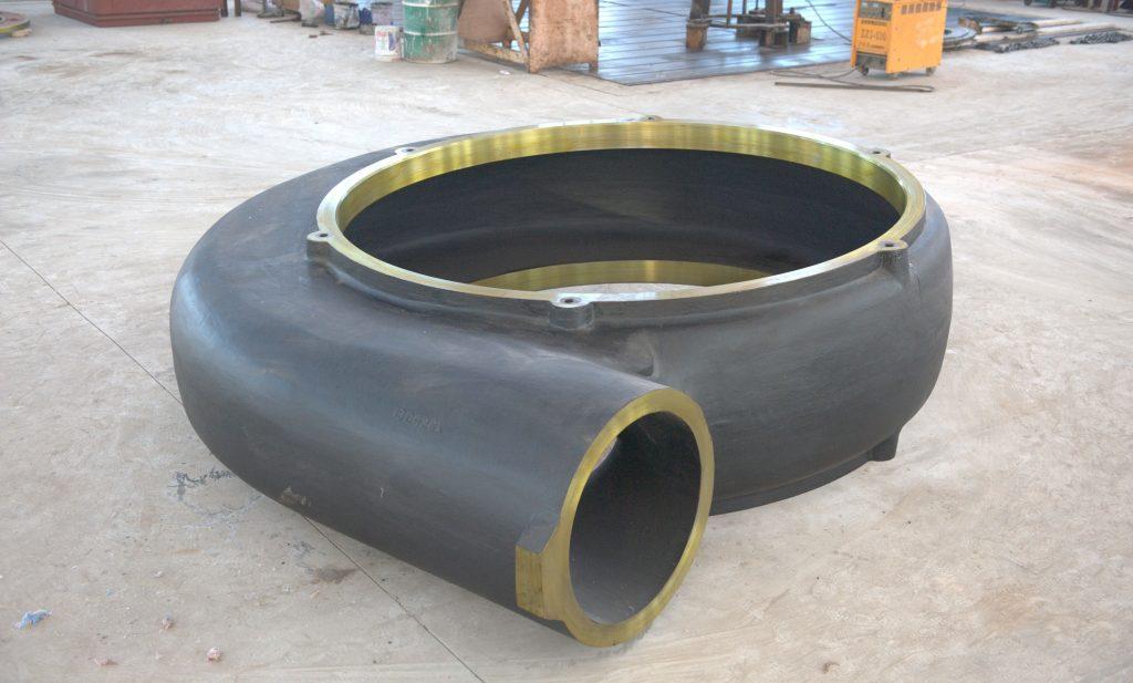 Dredge pump casings