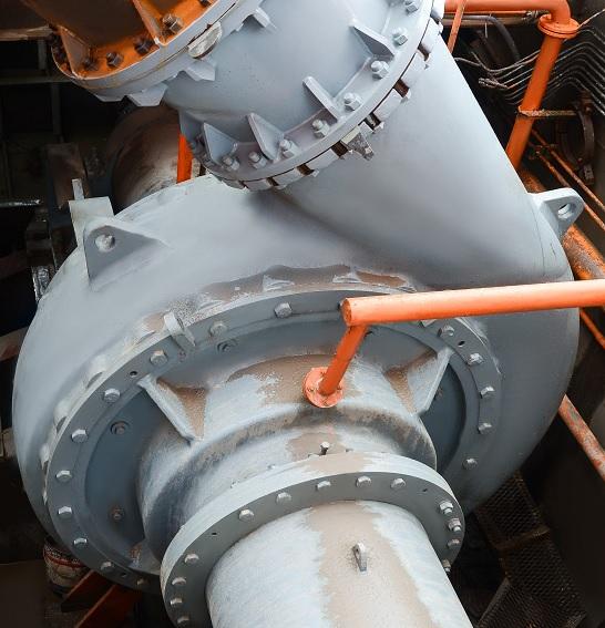 Submerged dredge pumps